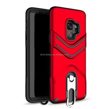 shockproof case hard protector case with stand for samsung galaxy s9