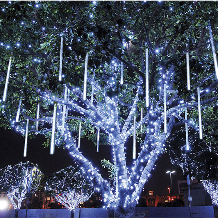 Multi-color 30CM Meteor Shower Rain Tubes LED Christmas Lights Outdoor Wedding Garden LED String Light
