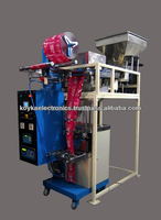 Automatic vertical form fill seal snacks packing machine