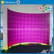 New cheap inflatable photo booth wall , photo booth kiosk wedding sales