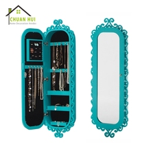 Sale lock blue jewelry beauty organizer furniture armoire