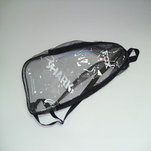 Clear PVC zipper bags/PVC Cosmetics packaging bags/PVC pouches
