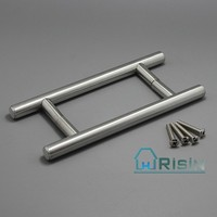 Satin Nickel Bridge Pull Cabinet Handle