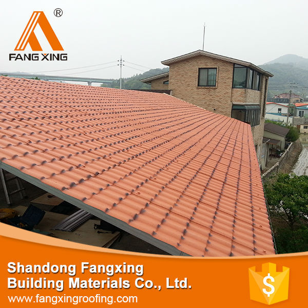 wholesale royal tile ,synthetic resin roofing tile, stone coated steel roof tiles classic roof