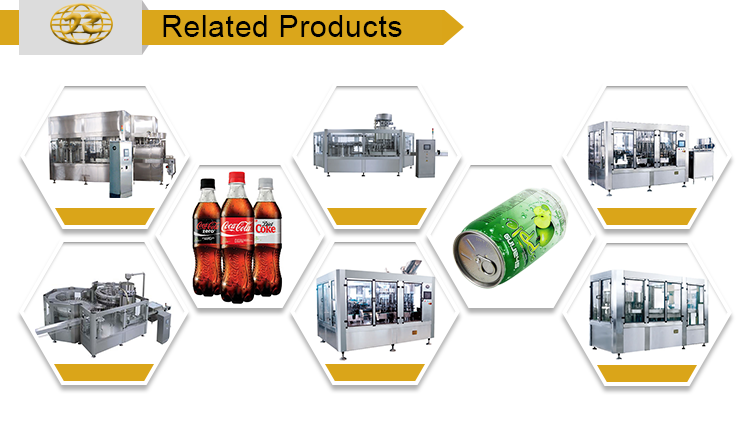 New design Multipurpose carbonated bottled water filling machine