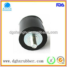 Pro-environmental 2012 hot selling factory rubber bumper with screw