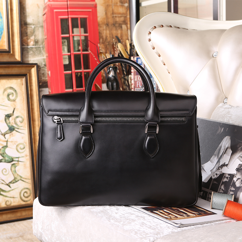 Wholesale-E Mio Leather Men Business Briefcase Handmade Venezin Cow ... bd7705c2ee