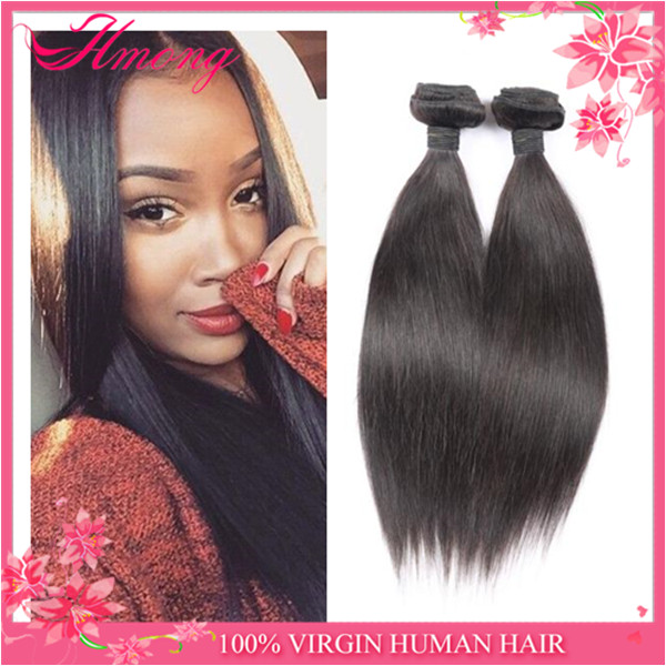 Brazilian silky straight remy human hair weft can permed brazilian hair free sample available