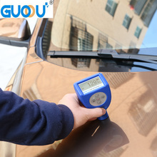 0~1500um GUOOU GTS810F Car Paint Magnetic Chrome Digital Coating Thickness Tester Meter automotive coating Thickness Gauge