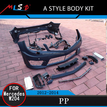 Auto Car Bumper High Quality A Style Body Kits for Benz W204 C63 12-14