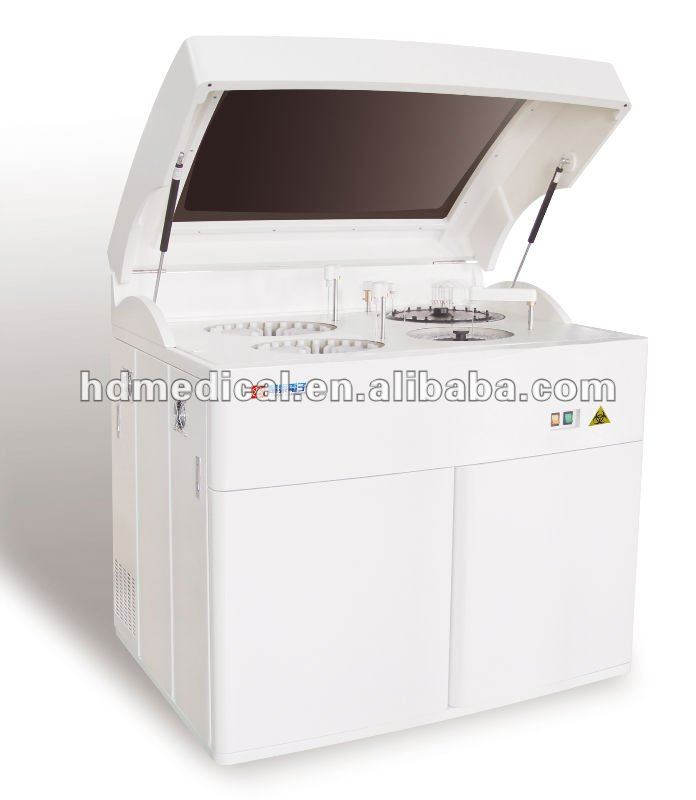 High speed automatic biochemistry analyzer medical clinical analytical instrument lab immunity device DG8400