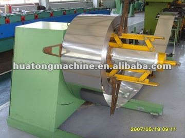 Colored Steel Hydraulic decoiler Machine