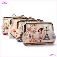 Free Shipping by DHL/FEDEX/SF Top Leather Character Girls Small women <strong>wallet</strong>
