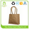 Promotion Tote bag type and handle style laminated jute bag