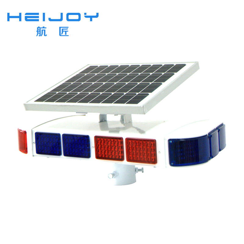 HEIJOY-STL-02 used traffic signal lights Solar powered LED traffic signs