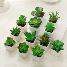 Factory direct artificial flowers wholesale cheap artificial flowers mini succulent plant