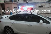Sunrise Latest and hot products taxi roof top light signs led screen/led display for taxi