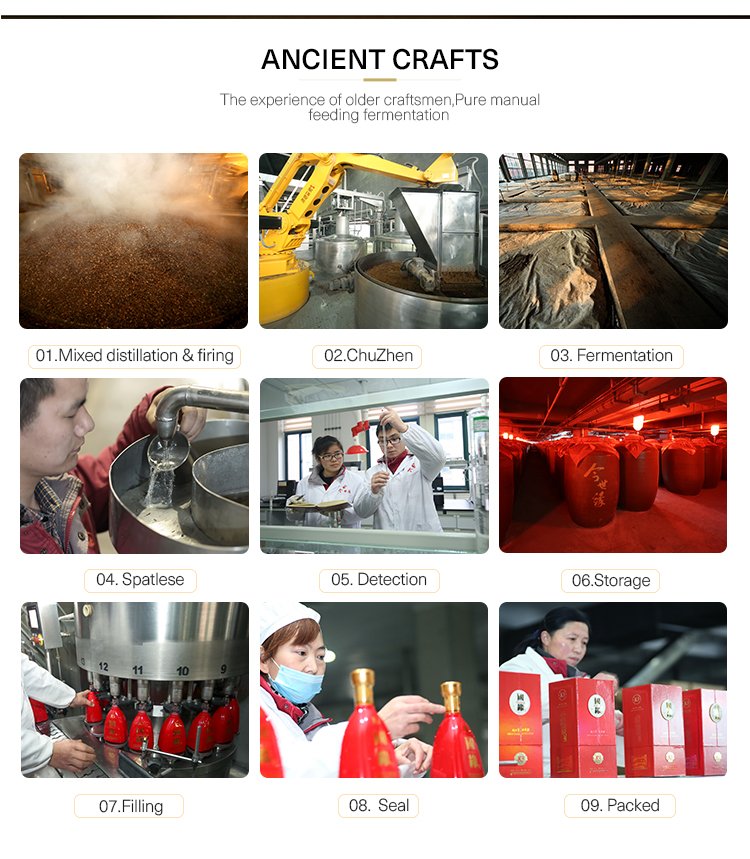 Reliable Quality China liquor Blended Grain Whisky