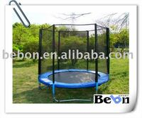 10FT big outdoor round trampoline with enclosures