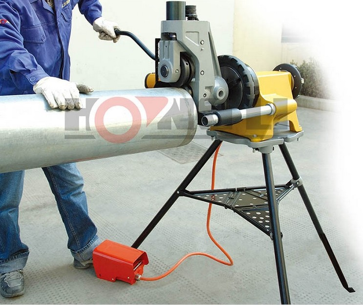 "YG12A hydraulic electric roll/pipe grooving machine,2""-12"""