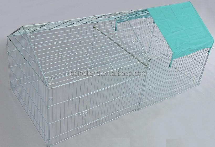 2016 big dog house durable of good quality powder coated easy to assemble dog pen pet pen rabbit pen wholesale