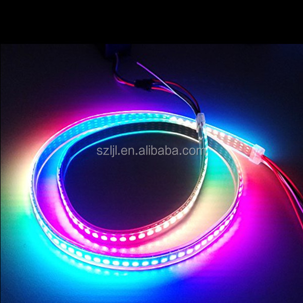 Best price Individual Addressable 5050 RGB LED Strip WS2812B 144Leds/m