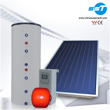 Residential rooftop solar water heater