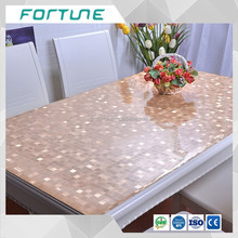 Modern Design PVC waterproof soft glass table cloth 2016