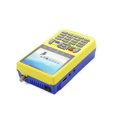 Lithium-ion 3000mA Battery Normal work up to 4 hours Frequency range 950MHZ-2150MHZ xcruiser digital satellite finder xs9900d