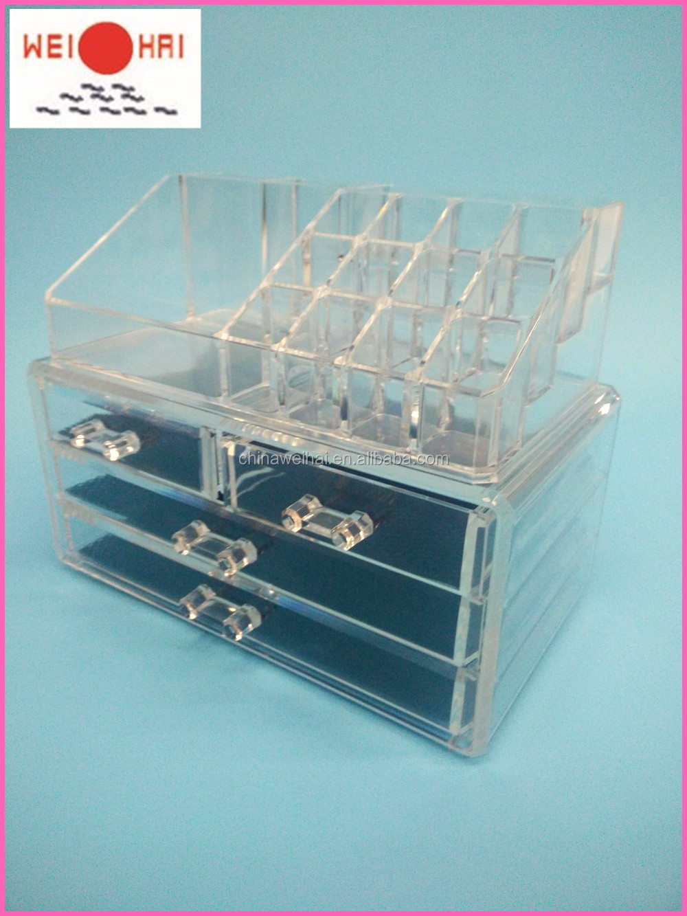 Hot Sell Low Price Clear Acrylic Makeup Organizer Acrylic Cosmetic