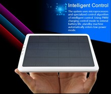 New waterproof Solar Power Bank 10000mah solar charger power bank for mobile
