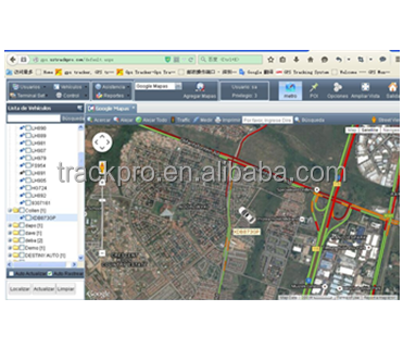 Monitoring vehicles on the same screen/gps tracking system for meitrack, coban