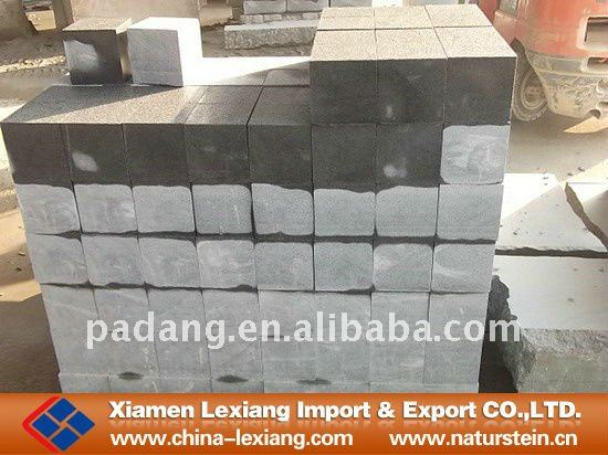 Artificial G654 granite paving stone