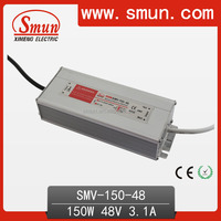 CE RoHS 150W 48V 3.1A Waterproof Led Power Supply With IP67