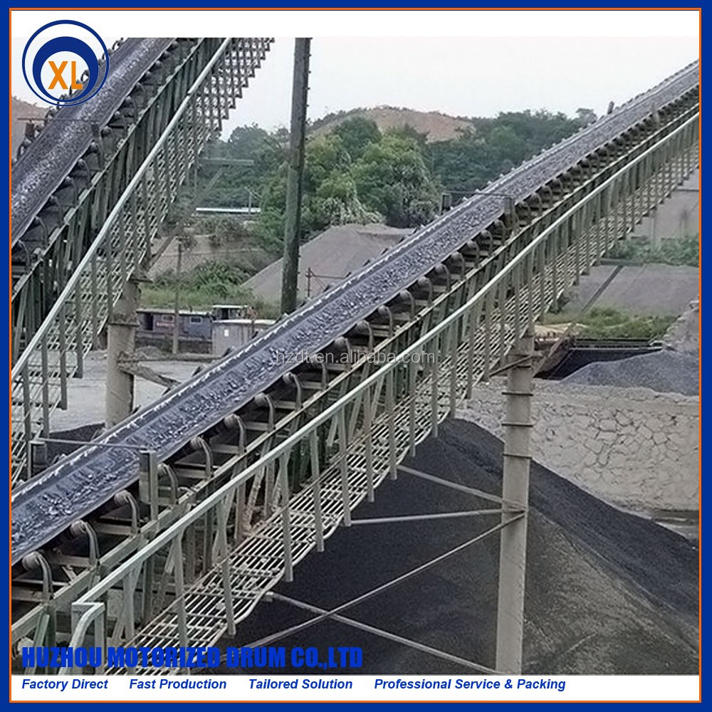 high quality coal mine equipment belt conveyor carrier roller, standard conveyor idler roller buy direct from china factory