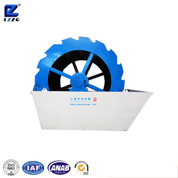 New Type Crushed Sand Washing Machine For Aggregate Production Plant
