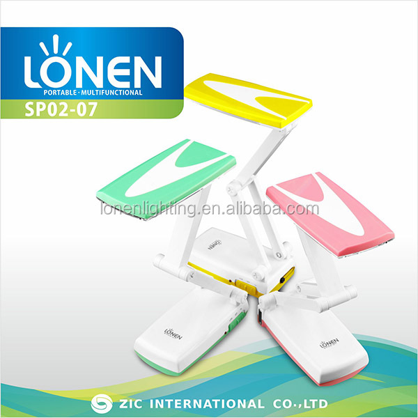 LONEN 18SMD battery powered led table lamps