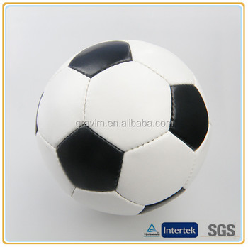 Promotional soccer ball/football standard size 5# PVC/TPU leather material brand logo