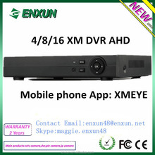New Arrival Full HD 4/8/16ch AHD 1080P DVR connect with 1080P AHD CCTV Camera
