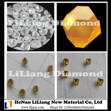 HTHP Yellow White Monocrystal Large Size Synthetic Diamond from LiLiang Diamond