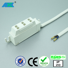 2.1/5.5mm DC plug DC Power Jack Socket Female Panel Mount Connector dc jack smt AMP 3 pole veiteilr for led panel light