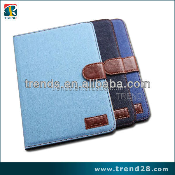 buy direct from china manufacturer button type wallet leather moblie phone case for ipad mini 2