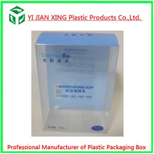 Accept Customized PVC Printing Clear Plastic Soap Boxes Packaging