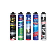 windows and doors frame spray pu foam sealant