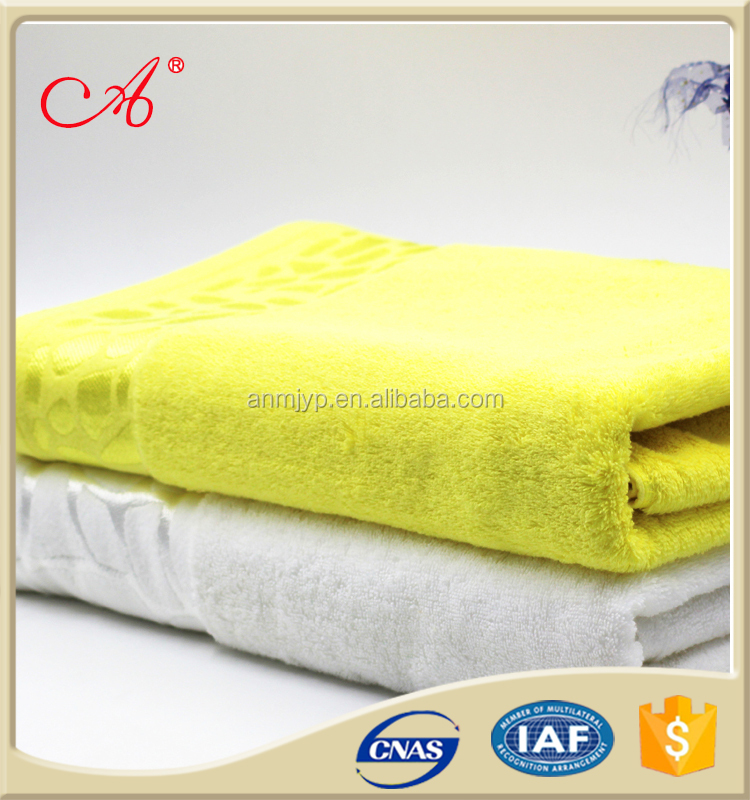 Factory sale directly 16yarn count 100% cotton hotel bath towel