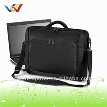 Fashion Black Portfolio Laptop Case