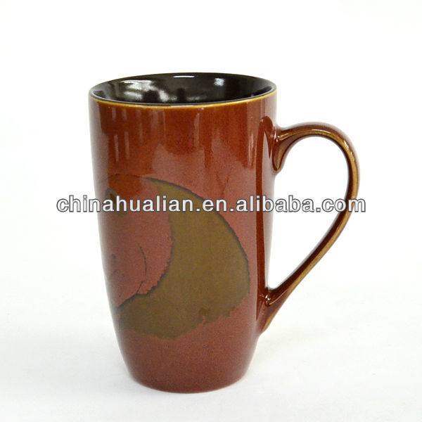 Ebay china website china online selling 22oz eco-friendly ceramic coffee cups chinese, color coffee mug pand hand painting