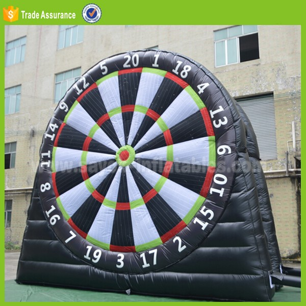 inflatable dart game outdoor inflatable soccer darts rent inflatable human foosball court