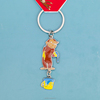 New product cute ative monkey keychains /metal keyholders