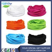 Plain Polyester Sports Bandana/Pure Color High Quality Headwear